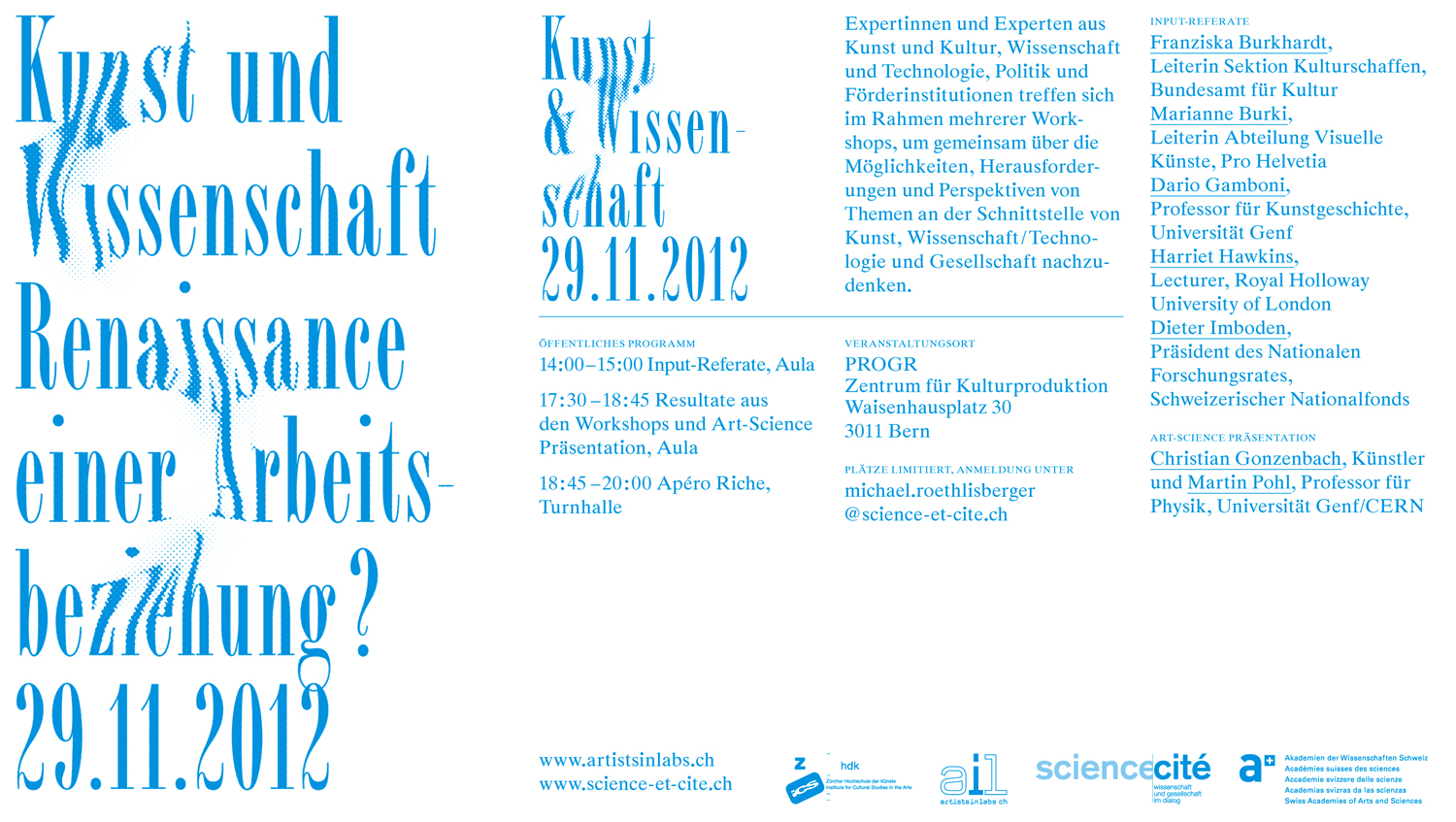 Art And Science 2012 The Renaissance Of A Working Relationship Science Et Cite